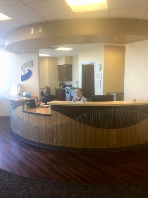 Lenexa Office Reception Area